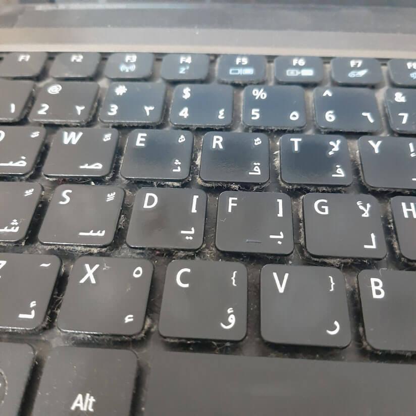 کیبورد نامناسب لپ تاپ
