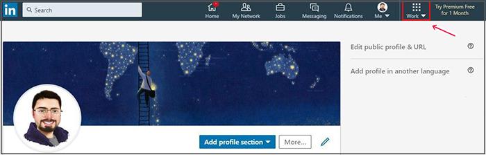 ساخت صفحه شرکتی در لینکدین