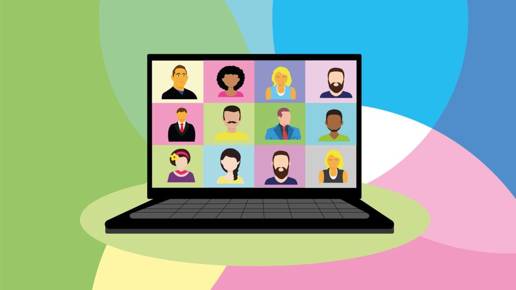 بهبود جلسات آنلاین