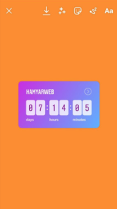 insta-countdown