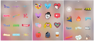 insta-stickers